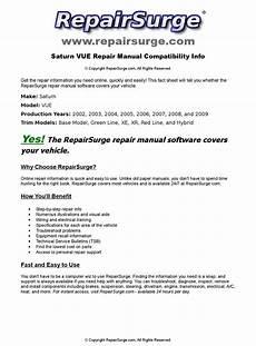 service and repair manuals 2004 saturn vue user handbook saturn vue online repair manual for 2002 2003 2004 2005 2006 2007 2008 and 2009 by