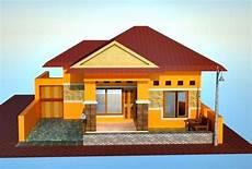 Model Rumah Sederhana Tapi Kelihatan Mewah 9 Desain Rumah