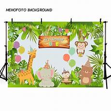 Animal Happy Birthday Photography Background Cloth by Jungle Safari Photo Background Animals Forest