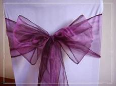 wedding leftovers for sale uk 30 cadbury purple organza chair cover sold