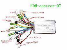 electric bike sine wave controller with hall sensor lcd display throttle light in other sports