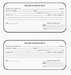 house rent receipt template india format hospital bill