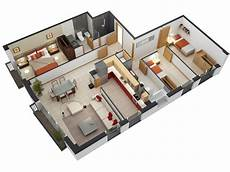 3 bedroomed house plans 3 bedroom apartment house plans