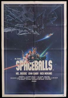spaceballs one sheet movie poster rick moranis candy