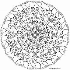 mandala easter coloring page coloring page free