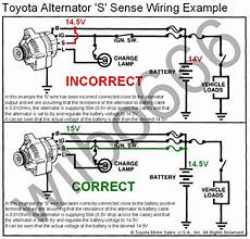 toyota alternator wiring diagram wiring diagram and