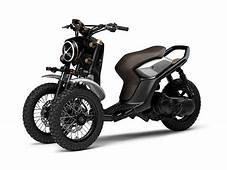 ヤマハ、三輪バイクのデザインコンセプト「03GEN F」「03GEN X」を公開 /Yamaha Concept 3