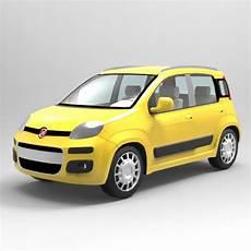 Fiat Panda 3d Model Formfonts 3d Models Textures