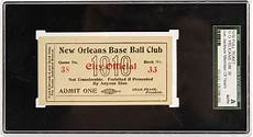 ticket bid lot detail 1910 joe jackson new orleans pelicans