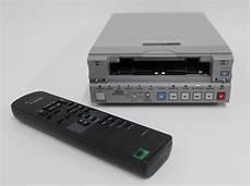 lettore cassette mini dv sony dsr 11 dvcam minidv ntsc pal vcr deck player