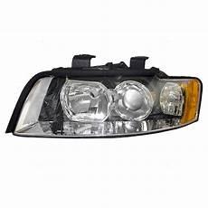 autoandart com 02 05 audi a4 s4 new drivers headlight headl lens housing assembly