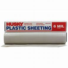 husky 10 ft 4 in 100 ft clear 6 mil plastic sheeting cf06103c the home depot