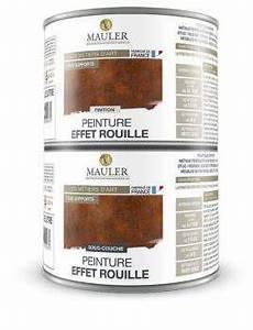 peinture effet rouille peinture effet rouille multi support mauler fer bois