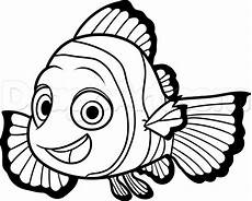 how to draw nemo from finding dory step by step disney