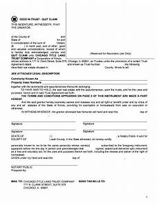 fillable online trust deed agreement euro form fax email