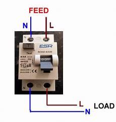 wiring up rcd rccb diynot
