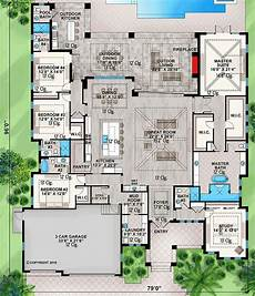lanai house plans plan 86084bw deluxe contemporary beach home with large