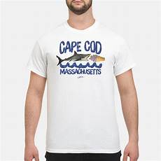 Official Jcombs Cape Cod Ma Great White Shark And