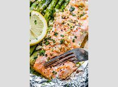 lemon garlic salmon baked recipe