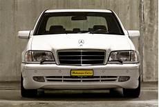 Mercedes C43 Amg W202 White On Black Benztuning