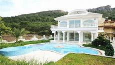 detached luxury kemer villa for sale with floor heating