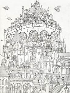 newnew city by lordoffog deviantart coloring mood