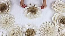 diy paper flower tutorial my wedding backdrop flowers