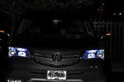 Pimped Cars Acura MDX With The Best Headligts Ever