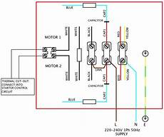 hyd motors wiring diagram 220v how to connect single phase motor with capacitor impremedia net