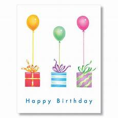 birthday card template for employee gifts balloons employee birthday cards business