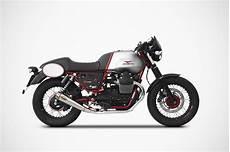 Moto Guzzi V7 Racer Zard scarichi moto guzzi v7 ii racer zard zard