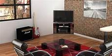 Norstone Corner Noir Meubles Tv Sur Easylounge