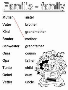 Ausmalbilder Englisch Grundschule Englisch Lernen Arbeitsblatt Englisch Lernen Familie Zum