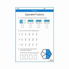 fractions year 3 worksheets number maths melloo