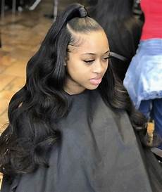 Black Prom Hairstyles With Weave