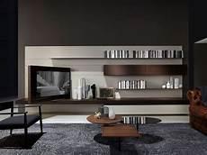 Wohnwand Modern Design - moderne wohnwand aus holz piero lissoni modern 2 porro