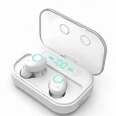 Wireless Earbuds Bluetooth Earphone 2200mah Power by Tws Wireless Bluetooth 5 0 Earphone Led Digital Display