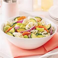 Salade De Chou Fleur Carottes Et Courgettes Marin 233 Es Je