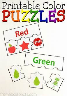 printable color puzzles from abcs to acts preschool color activities color puzzle