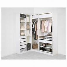 ikea planner guardaroba pax corner wardrobe white flisberget light beige home