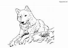 Kinder Malvorlagen Wolf Wolf Ausmalbild