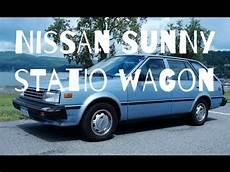 nissan sunny b11 review espa 241 ol youtube
