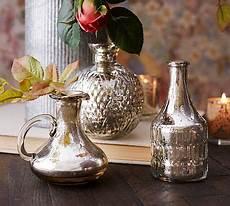 eclectic mercury bud vases set of 3 pottery barn