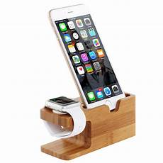 Bracket Stand Holder Mount Display Dock by Bamboo Dock Station Charger Charging Stand Holder For