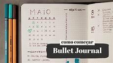 Como Come 231 Ar Um Bullet Journal Primeiros Passos