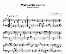 waltz of the flowers sheet music for piano solo sky