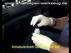 kunststoff im auto reinigen smartrepair reparatur am armaturenbrett im pkw