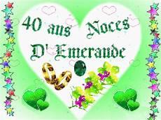 Cadeau Noces D Emeraude 40 Ans De Mariage