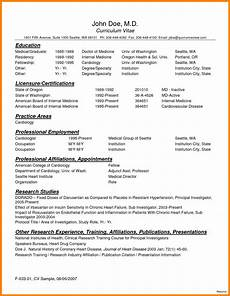 8 curriculum vitae for doctors sle theorynpractice