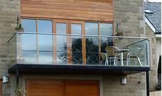 Modern Glass Staircase Design Glass Floor Balcony Modern